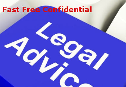 Fast Free Legal Advice Button